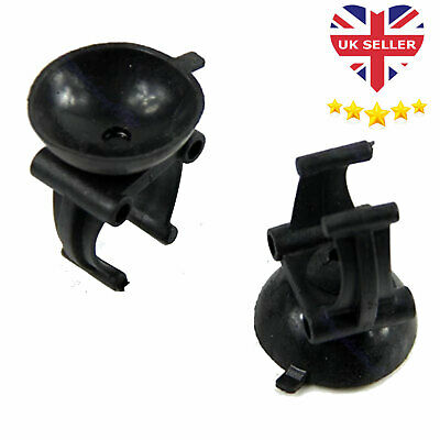 2 X AQUARIUM HEATER CLIPS And SUCKERS Suction Cups For Fish Tank Thermostat