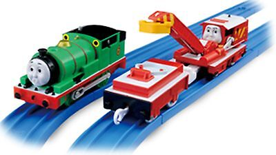 Trackmaster Tomy Thomas & Friends motorized surprise look percy with carry ROCKY
