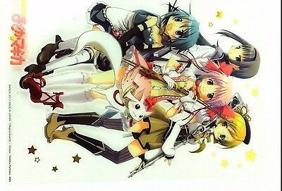 Puella Magi Madoka Magi Clear Plate Poster mini shitajiki pencil board Japan 3