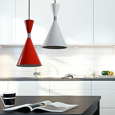 NEW CLA Lighting Ultra Modern Ceiling Pendant Light Red White CLASSIC
