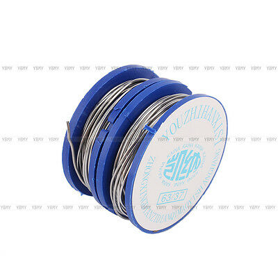 High Quality 2Pcs 0.8mm Tin Lead Rosin Core Solder Welding Iron Wire Reel 63/37