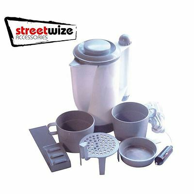 12V Camping Festival Motorhome In Car Travel Kettle, Cups & Accessories SWK1