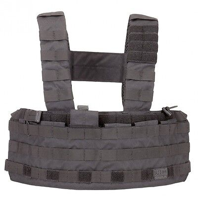 5.11 Tactical Black TacTec Chest Rig. Delivery is Free