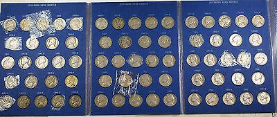 1938- 1963 D Jefferson Head Nickels Complete Nice Circulated Coin Collection