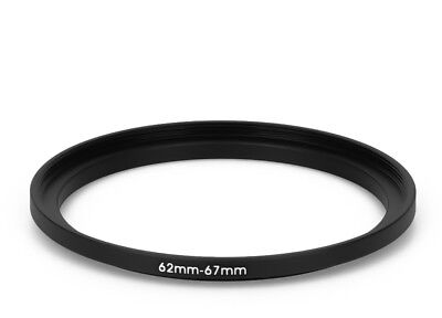 62 mm - 67 mm Filter Adapter Step-Up Adapter Filteradapter Step Up 62-67