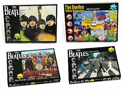 The Beatles Jigsaw Puzzle 1000 Piece 59cmx59cm Choose From 4 Album Cover Designs