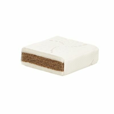Obaby Natural Coconut Coir and Wool Toddler/Junior Cot Bed Mattress - 140 x 70cm