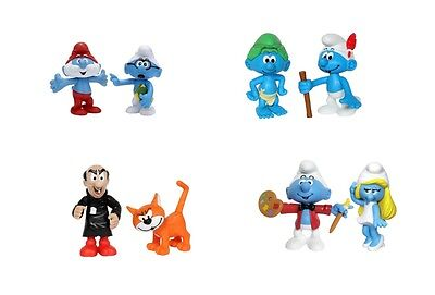 The Smurfs Action Figures Toy Use with Playsets or Collect Them Official Product