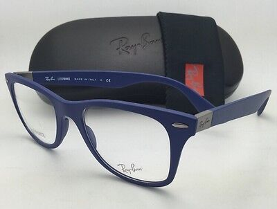 a2d8bdbe70 ... where to buy new ray ban eyeglasses liteforce rb 7034 5439 50 19 150  lightweight blue