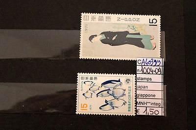 Stamps Japan Giappone Nuovi Mnh ** 1004+1009 (A40399)
