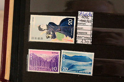 Stamps Japan Giappone Nuovi Mnh ** 1061/62+1052 (A40414