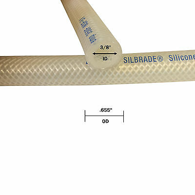 "3/8"" ID Silbrade® High Temp Hose (10' Segment)"
