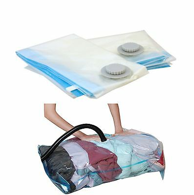 NEW VACUUM COMPRESSED BAGS SPACE STORAGE SEAL CLOTHING BEDDING 70x100cm