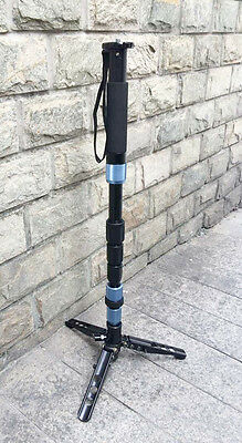 Sirui P-204S R P-204SR Monopod w/ Three Stand Feet & Carry Case USA shipping