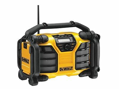 DEWALT - DCR017 XR DAB Radio & Charger 240 Volt & Li-Ion Bare Unit