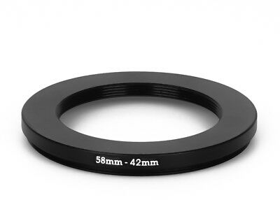 58 mm - 42 mm Filter Adapter Step-Down Adapter Filteradapter Step Down 58-42