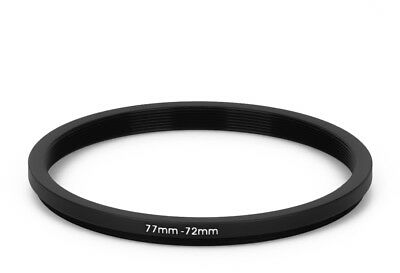 77 mm - 72 mm Filter Adapter Step-Down Adapter Filteradapter Step Down 77-72