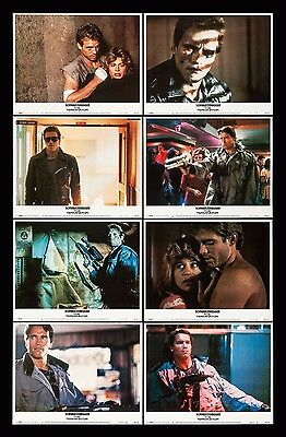 THE TERMINATOR * CineMasterpieces ORIGINAL MOVIE POSTER LOBBY CARD SET OF 8 1984