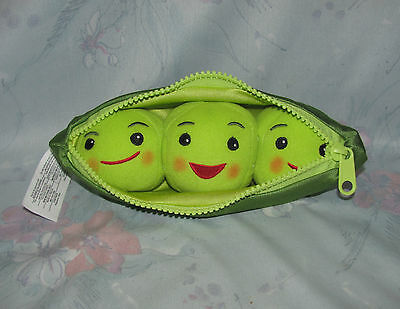 "Disney Store Toy Story Plush Peas in a Pod 8"" - Small Size - Shiny Material"
