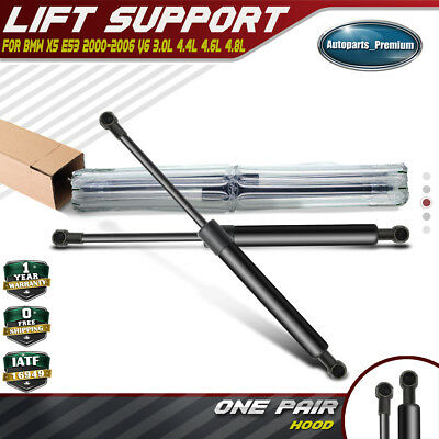 Qty 2 Front Hood Lift Supports Shocks Struts For Pontiac GTO 2004-06