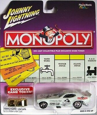 Johnny Lightning Monopoly Advance to Go '71 Satellite Funny Car. Free Delivery