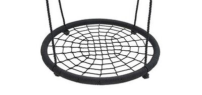 Nest Swing 100cm Spider Web Kids Special Needs Cubby House Play Equipment BLACK
