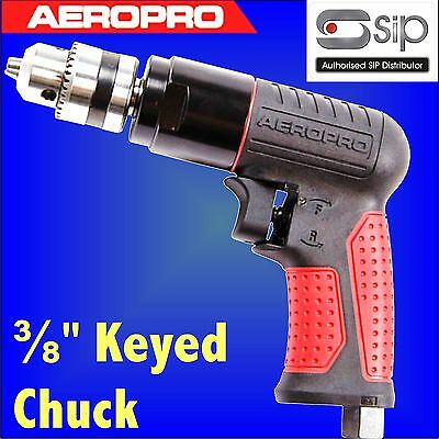 SIP 07207 Aeropro Composite Reversible Air Drill 3/8 key type chuck