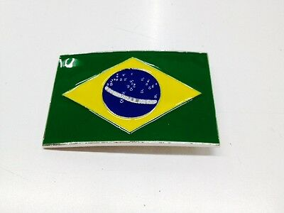 Brazil Country Buckle Fifa World Cup / New