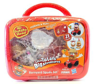 NEW Playskool Mr Potato Head Little Taters Big Adventures Barnyard Spuds Set