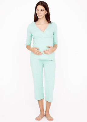 NEW - Dote - Nursing Pyjama Set in Mint - Maternity Sleepwear