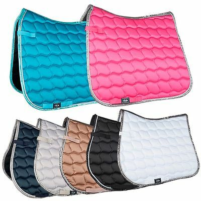 Hkm Saddlecloth - Pony Horse Riding Show Jumping Dressage/Gp Competition Numnah