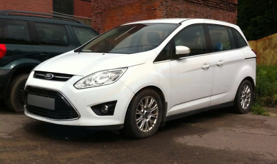 FORD GRAND C-MAX 5-doors 2011-onwards 4-pc wind deflectors HEKO Tinted