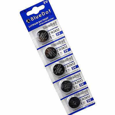 5 PACK ~ Fresh Date ~ 2032 Lithium 3v Cell Watch Battery CR2032 DL2032 USA SHIP