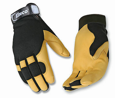 Kinco Pro Unlined Deerskin Drivers Work Gloves Style 101 Choose Your Size New