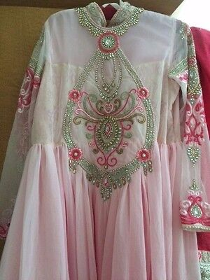 Indian Dress Pink and Silver