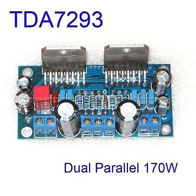 TDA7293 Dual Parallel 170W BTL Mono Audio Power Amplifier AMP Board Assembled