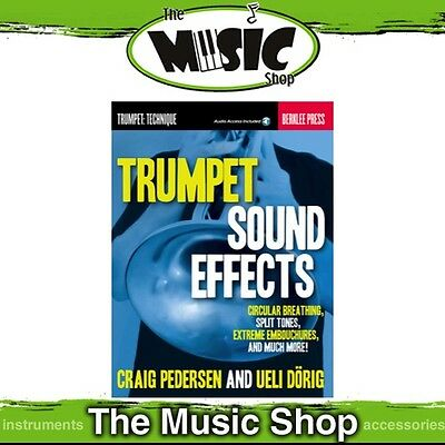 New Trumpet Sound Effects Music Tuition Book with Online Audio Access