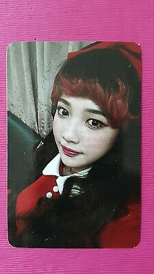 RED VELVET JOY Official Photocard 1st Album The RED Photo Card 조이