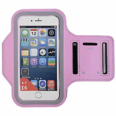 Pink Sports Running Jogging Gym Armband Case Cover Holder for Arm Band iPhone 6