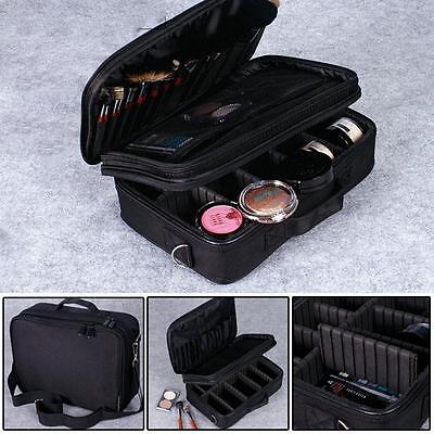 New Professional Cosmetic Bags Waterproof Makeup Storage Suitcase Jewelry Bags