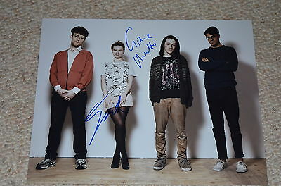 CLEAN BANDIT signed autograph In Person 8x10 (20x25 cm) GRACE CHATTO & JACK