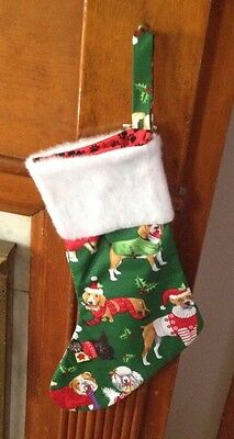 Dachshund Wiener Dog Doxi Puppy Christmas Stocking