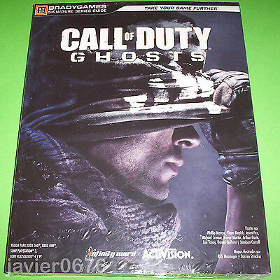 Call Of Duty Ghost Guia Nueva Y Precintada Bradygames