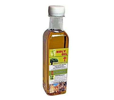Real certificated blessed Anointing oil from the holy sepulchre in Jerusalem