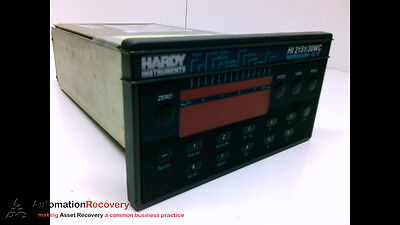Hardy Instruments Hi 2151/30Wc , Single Scale Weight Controller