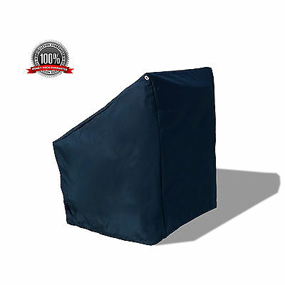 """WaterProof Deluxe Boat Center Console Cover Medium 40""""L Navy"""