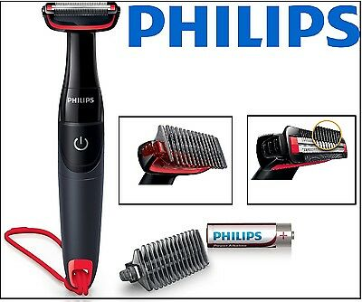 PHILIPS Bodygroom Trimmer Series 1000 Bartschneider MultiGroom Body Netz Akku