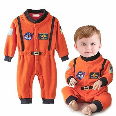 Baby Boy Girl Astronaut Spaceman Carnival Fancy Dress Party Costume Warm Outfit