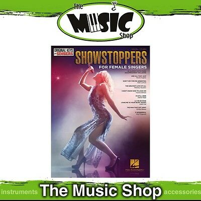 Showstoppers for Women Music Book for Vocal & Piano - Original Keys for Singers