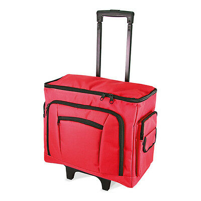 NEW Birch 006105/R Red Sewing Machine Trolley Bag 47 x 38 x 24cm | FREE SHIPPING